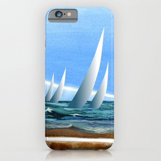 The Geology of Boating iPhone & iPod Case