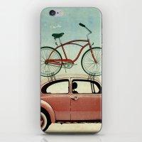 VW bike rack iPhone & iPod Skin
