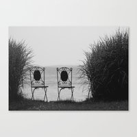 Everybody Left. Canvas Print