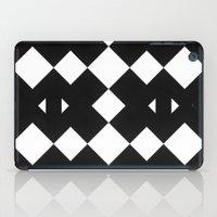 Branting Black & White Pattern iPad Case