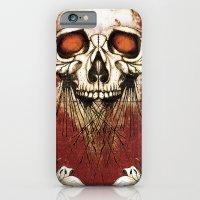 iPhone & iPod Case featuring Skullprint by Michael Scott Murphy