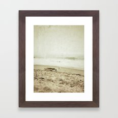 Ventura Beach, California Framed Art Print