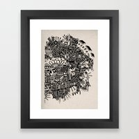 - city of april - Framed Art Print