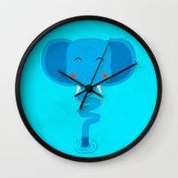 Elefun Wall Clock