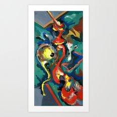 Wish (original) Art Print