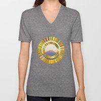 The Rising Sun Unisex V-Neck