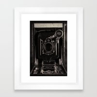 Autographic Framed Art Print