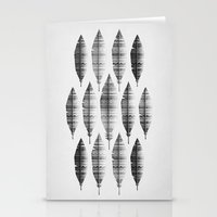 native bling (monochrome series) Stationery Cards