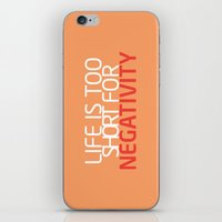 Life Is Too Short For Ne… iPhone & iPod Skin