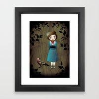Mille Framed Art Print