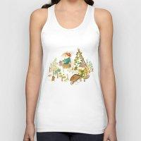 Critters: Summer Gardening Unisex Tank Top