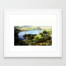 Leg of Mutton Lake Framed Art Print