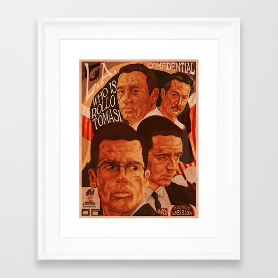 L.A Confidential Framed Art Print