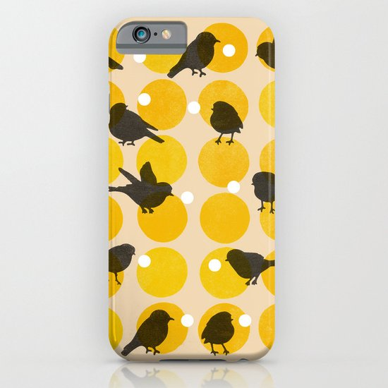 Birdsong Yellow iPhone & iPod Case