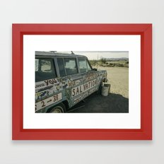 Salvation Mountain Truck  Framed Art Print