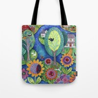 Summer Calling Tote Bag