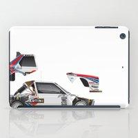 Henri Toivonen-Sergio Cr… iPad Case