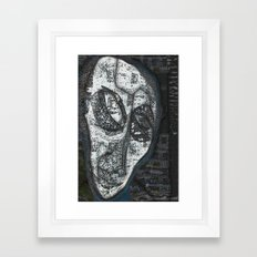 Fukushima Man Framed Art Print