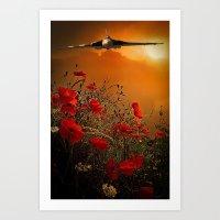 The V Bomber Art Print
