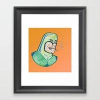 SUPER Stoned Framed Art Print