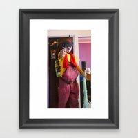 Clown Durilov Framed Art Print