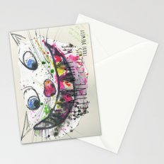 We Are What We Believe We Are Stationery Cards