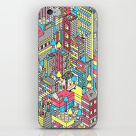 iPhone & iPod Skin featuring Isometricity by Tim Easley