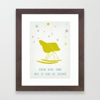 Enjoy Your Days And Be N… Framed Art Print