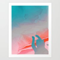 Canyon dive: In search of the Miraculous Art Print