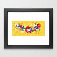 Kokeshina - Eté / Summer Framed Art Print
