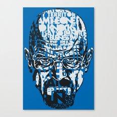 Heisenberg Quotes Canvas Print