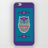 Indie Owl iPhone & iPod Skin