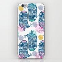 KISSING BIRDS iPhone & iPod Skin