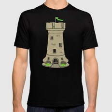 Castle Black SMALL Mens Fitted Tee