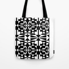 Black and White Tile 5/4/2013 Tote Bag
