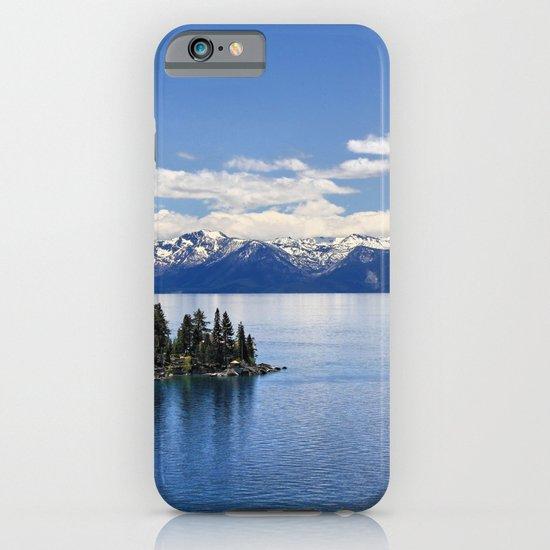 Lake Tahoe iPhone & iPod Case