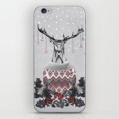 CHRISTMAS DEER (by Nika & Mariam) iPhone & iPod Skin