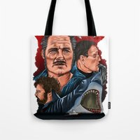 JAWS Tote Bag