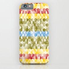 Hexagon pattern iPhone 6 Slim Case