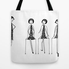 Eloise was never very good at musical chairs Tote Bag