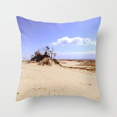 dust in the wind Throw Pillow