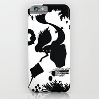 iPhone & iPod Case featuring The Little Mermaid - Day Dreaming by Jiaxi Huang
