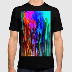 Memoryscape : Colors Series 4 SMALL Black Mens Fitted Tee
