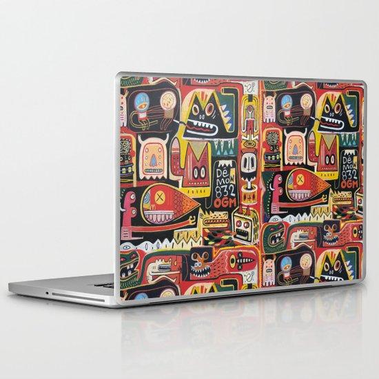 Mutant pop corn Laptop & iPad Skin