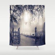 untitled  (colour option) Shower Curtain