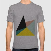 Falling Mens Fitted Tee Athletic Grey SMALL