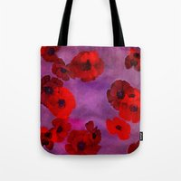 REDFLOWERS Tote Bag