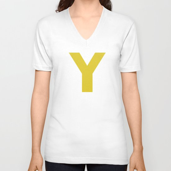 Y is for... V-neck T-shirt