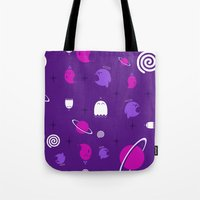 Space Ghosts Tote Bag