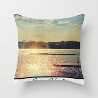 Right Outa the Scrapbook! Throw Pillow